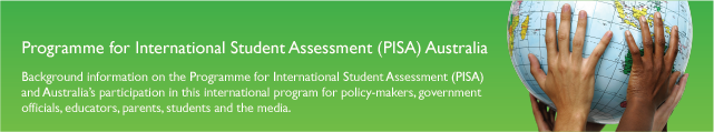 OECD Programme for International Student Assessment (PISA Australia)