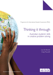 Thinking it through: Australian students' skills in creative problem solving