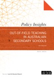Out-of-field teaching in Australian secondary schools