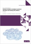 Survey and Focus Groups of Students Enrolled in Australian Vocational Education and Training (VET) Offshore: Final Report