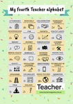 Infographic: My fourth Teacher alphabet by Dominique Russell