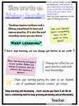 Infographic: Wise words on lifelong learning by Dominique Russell