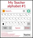 Infographic: My Teacher alphabet #1 by Jo Earp