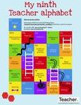 Infographic: My ninth Teacher alphabet