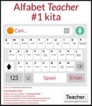 Infografik: Alfabet Teacher #1 Kita by Jo Earp